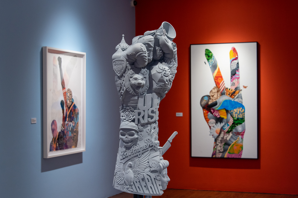 All At Once - a Retrospective at the Long Beach Museum of Art