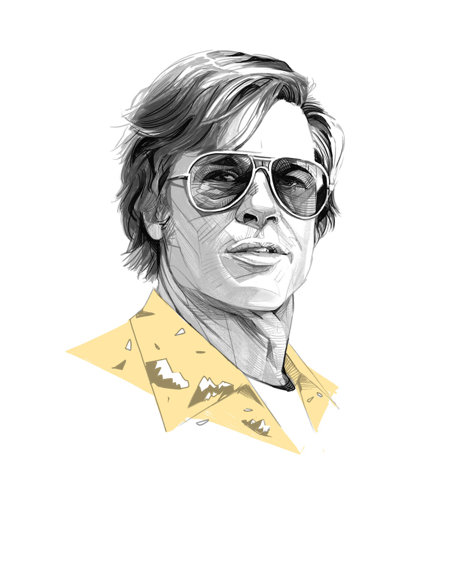 Brad Pitt as Cliff Booth (Once Upon A Time In Hollywood)