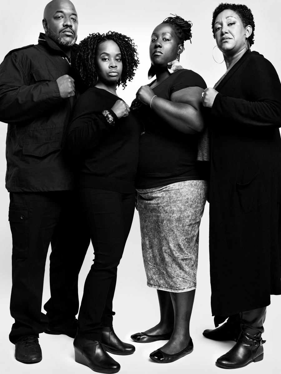 Black Lives Matter Civil Rights Activists