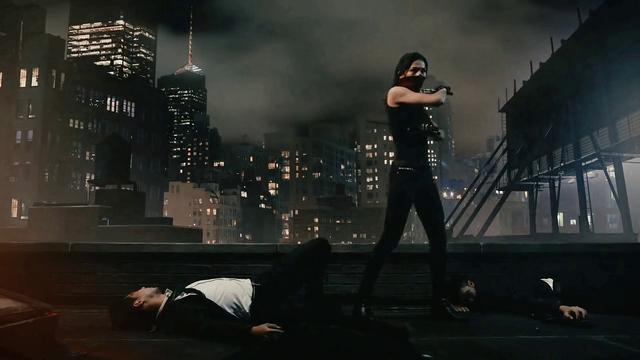 Netflix Daredevil Season II. Motion Elektra