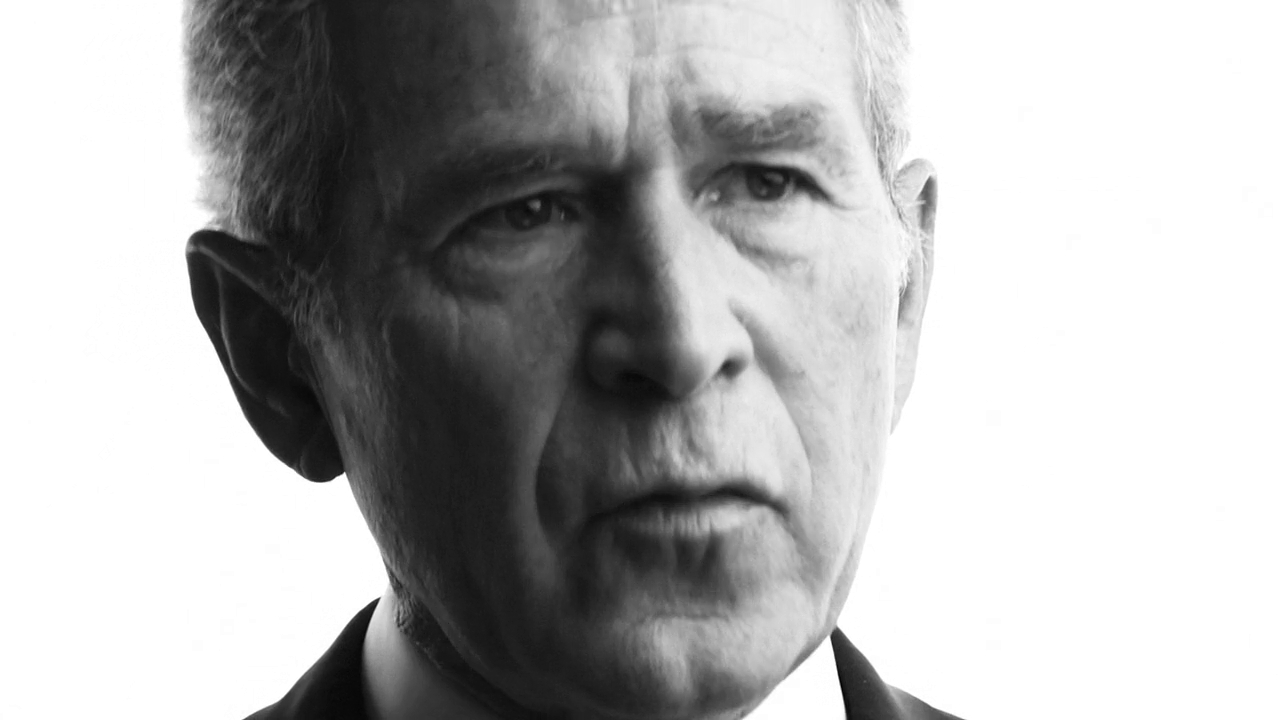 Take of Two Pitches - George W. Bush