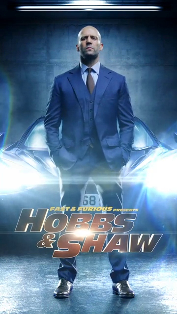 Hobbs & Shaw Motion Poster